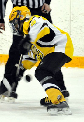 Coquitlam Chiefs Players wearing LAGA Sports hockey jersey and hockey socks image 5