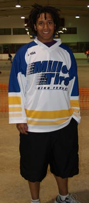 Ball hockey jersey being shown 2